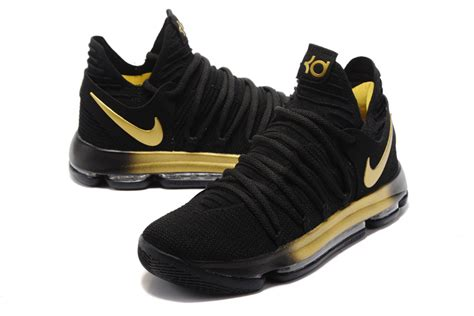 kd kid shoes nike kd 10 shoes black gold discount sales 105 99