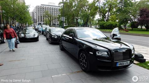 roll royce wraith matte rolls royce ghost series ii black badge 10 may 2017