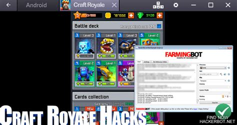 hacked apks craft royale royale clans hacks auto fight bots and other cheats