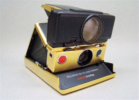 polaroid sx 70 land sonar onestep zeldzame polaroid sx 70 land sonar onestep gold