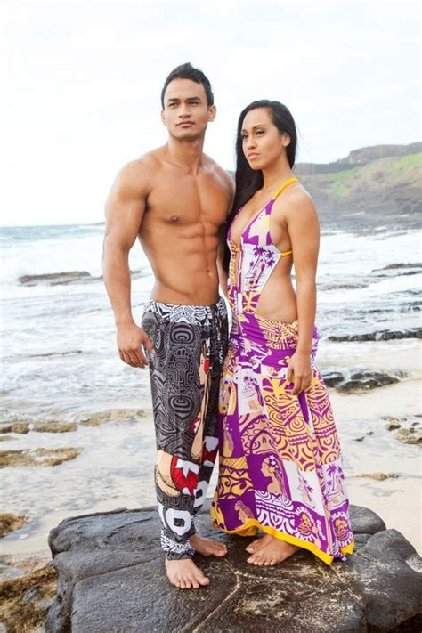 Couples Clothing Line Mr Miss Polynesia Competition Held In Hawaii Missing