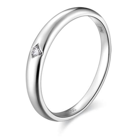 inexpensive couples matching wedding ring bands on