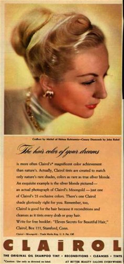 vintage clairol ads on pinterest clairol hair color 1000 images about vintage advertising on pinterest