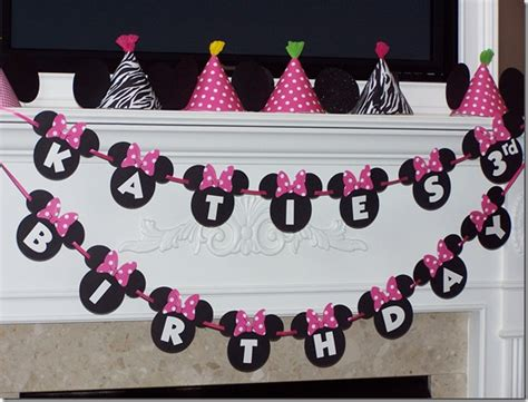 Minnie Mouse Birthday Decoration Ideas by Minnie Mouse Ideas Design Dazzle