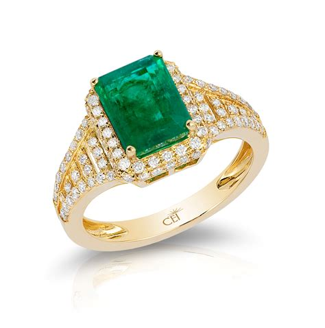 gold ring pic emerald rings yellow gold www pixshark images
