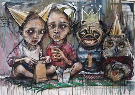 Picture Murals On Walls biography of herakut widewalls