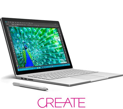 Laptop Microsoft Surface Book buy microsoft surface book silver free delivery currys