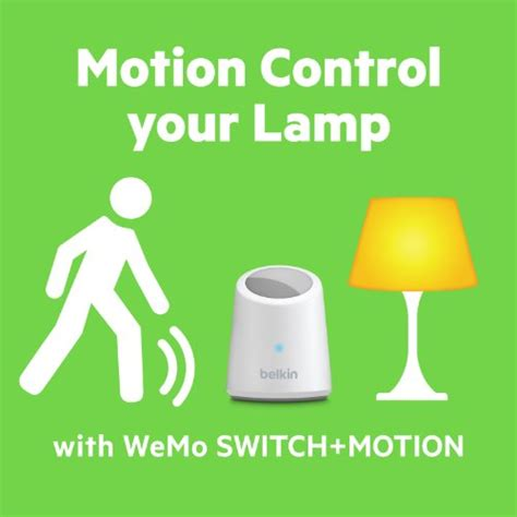 belkin wemo switch and motion sensor your