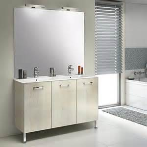 meubles salle de bains unique wood delpha 60 cm espace