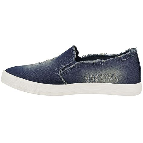 womens flat canvas shoes womens denim canvas flat skater slip on plimsolls