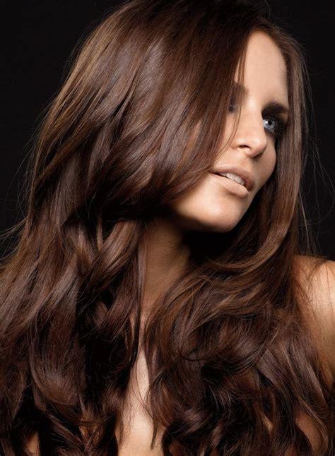 color de pelo otono invierno 2016 el color de cabello caf 233 es el color que destaca en el