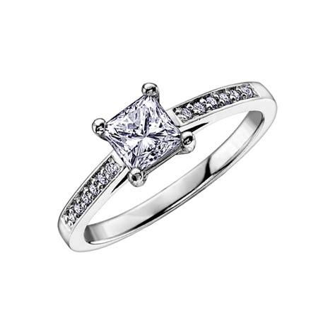 0 36ct princess cut ring francis gaye jewellers