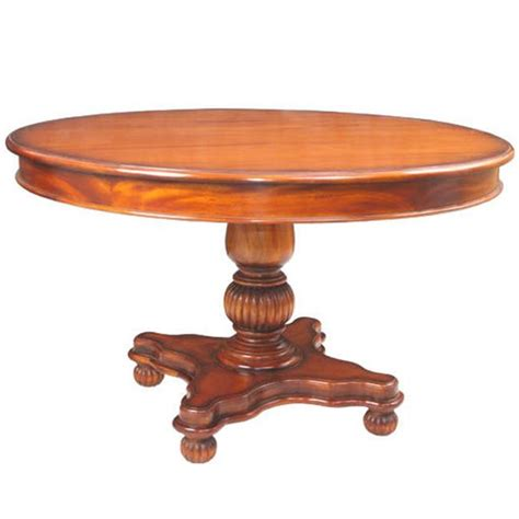 Roundtable Or Table by Georgian Dining Table Akd Furniture