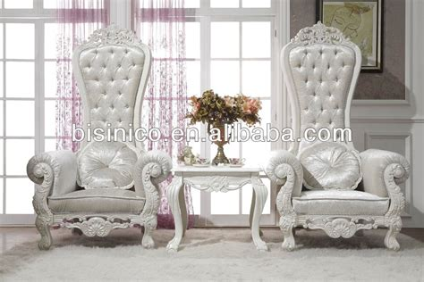 Luxury Living Room Furniture Elegant Royal Queen Chairs Luxury Chairs For Living Room