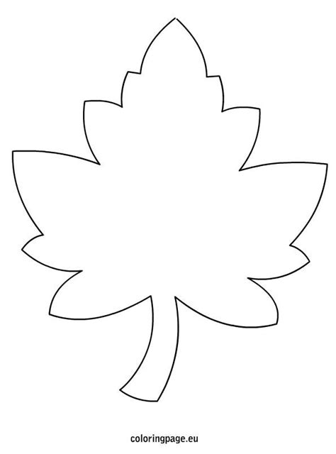 leaf template best 25 leaf template ideas on