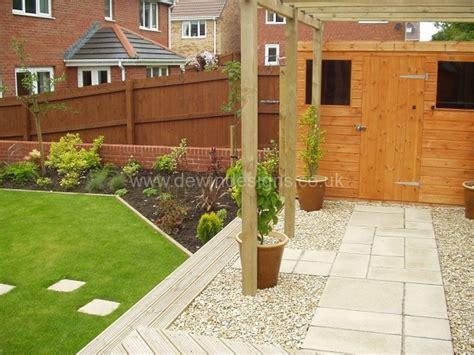 Decking Ideas For Sloping Garden Sloping Gardens Dewin Designs Garden Design Cardiff