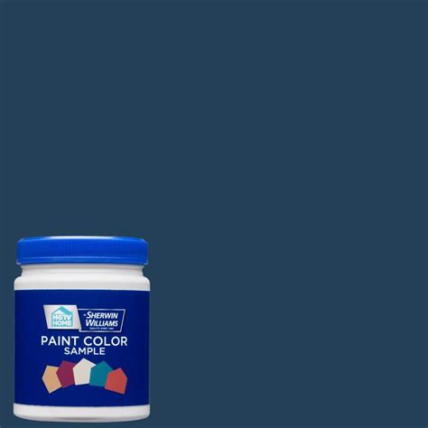 shop hgtv home by sherwin williams sw9177 salty interior satin paint sle actual net