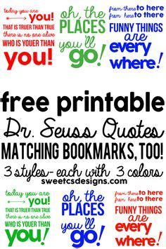 free printable volunteer bookmarks use this adorable dr seuss themed thank you note for your