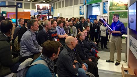trade show presenter spark presentations spark trade show presenter shines at cisco live europe