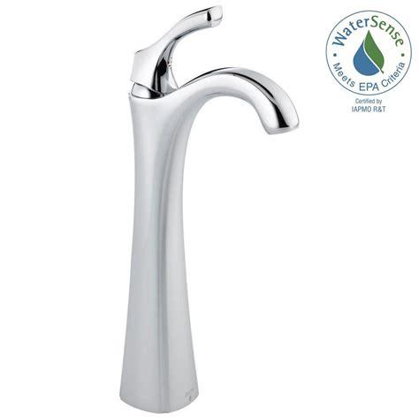 shop delta cassidy chrome 1 handle single hole bathroom delta cassidy single hole single handle vessel bathroom