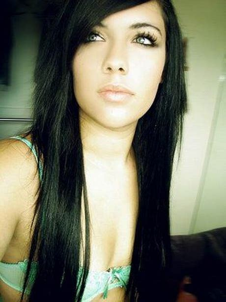 edgy hairstyles for long black hair edgy haircuts for long hair