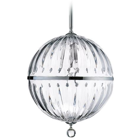 Cyan Design Janus Pendant Lights Cyan Design Janus Chrome Clear Pendant Light With Globe Shade 4207 Destination Lighting