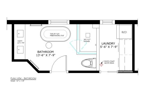 Small Half Bathroom Floor Plans New Small Half Bathroom Floor Plans With Montclaire Tiny