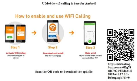 Android Wifi Calling by Here S How You Can Try U Mobile Wifi Calling On Android