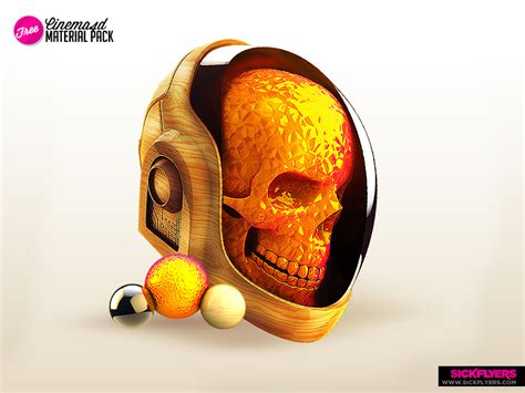 Devia Backpack daft skull free material pack by industrykidz on