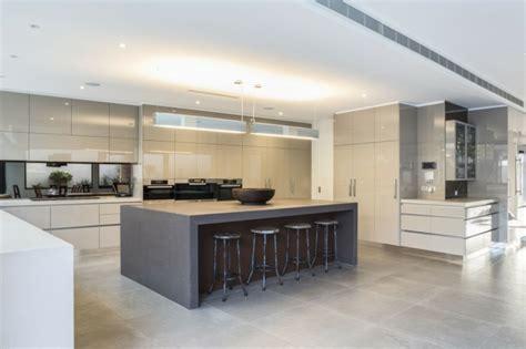 Large Kitchens With Islands by Jolie Maison D Architecte 224 Melbourne Vivons Maison