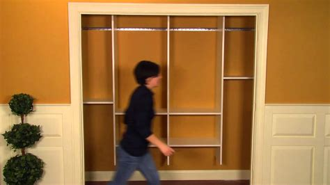 Easy To Install Closet Organizers How To Install A Closet Organizer
