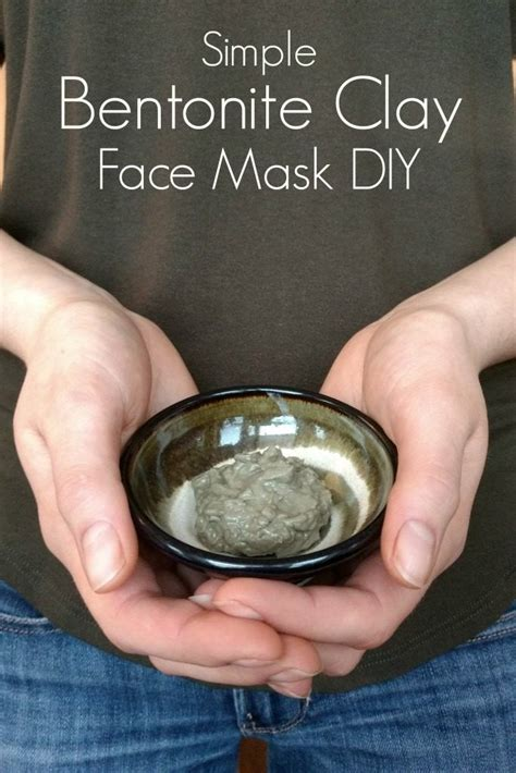 Detox Mask Diy by Detox Your Skin With This Bentonite Clay Mask