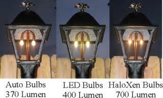solar light post lamp gas light conversion to led looks like a gas light