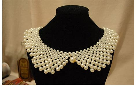 pearl collar pearl collar necklace