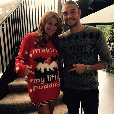 Billi Mucklow And Andy Carroll Annou E Baby News On