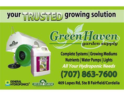 greenhaven garden supply fairfield california ca