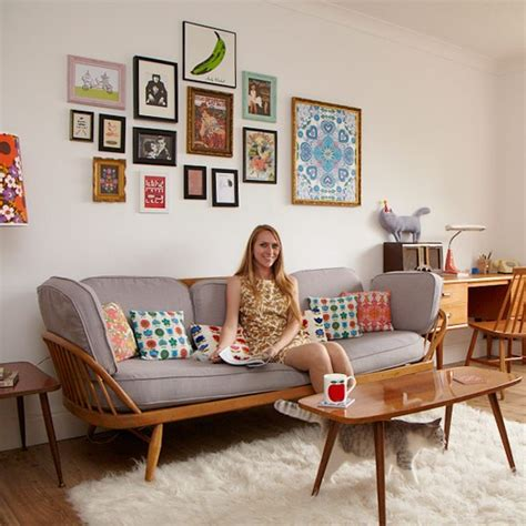 classic and retro style living rooms take a tour around chloe s colourful retro inspired home