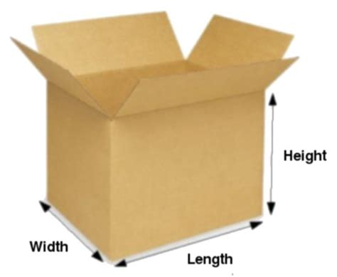 L In A Box by Gp632 60x34x27cm Lxwxh Buy Boxes For Storage Shipping And Moving