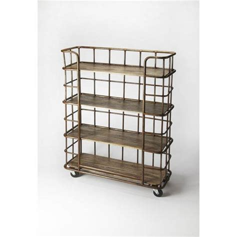 Etagere Butlers by Antioch Industrial Chic Etagere Butler Specialty Company