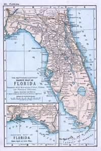 map of all florida cities and towns quot the matthews northrup handy map of florida showing all