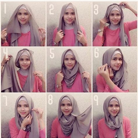 tutorial hijab com 25 inspirasi tutorial hijab segi empat terbaru 2018