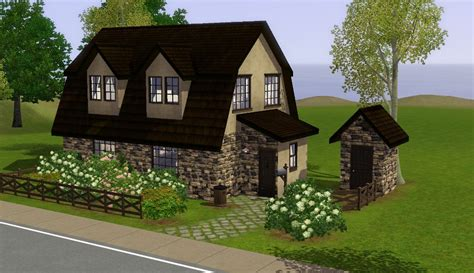 Cottage Designs Small Mod The Sims Medieval Residential Lots Ye Olde Kingdom