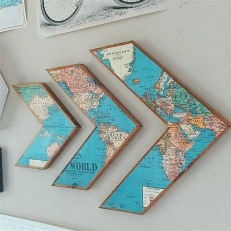 map decor crafts to make your home unique pillar box blue diy ways to craft with old maps listing more