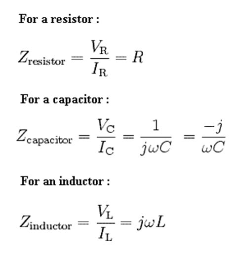 capacitive reactance in complex form electrical engineering tutorials electrcal impedance inductive reactance capacitive reactance