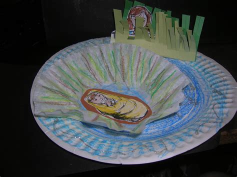 paper plate crafts for sunday school preschool sunday school project miriam baby