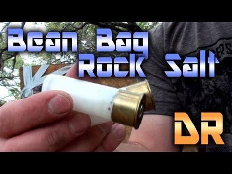 bean bag shotgun shells 20 less than lethal shotgun vs ribs rock salt bean bags