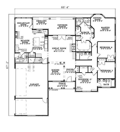 house plans with keeping room off kitchen house plans with hearth room off kitchen