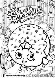 Shopkins list season 1 colouring pages