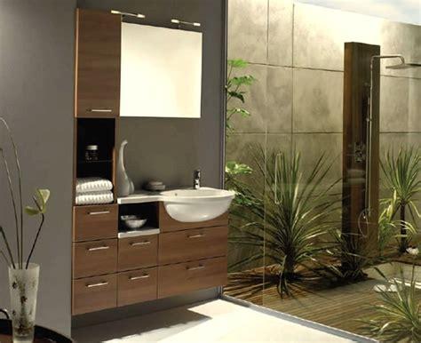 Spa Like Bathroom Ideas Dise 241 O De Ba 241 O Moderno Decorado Con Algunas Plantas