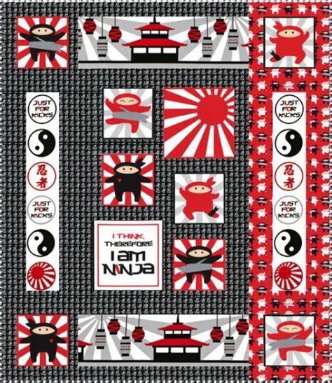 Ninja Pattern Fabric   mini ninja free pattern robert kaufman fabric company